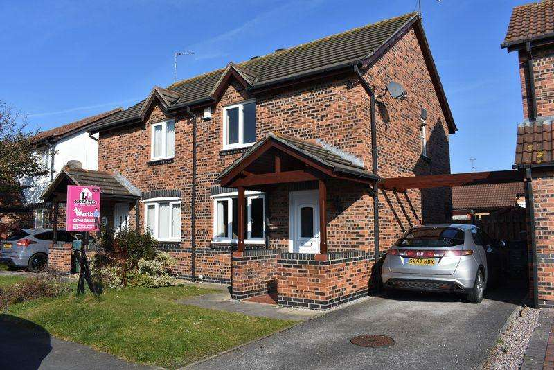 2 Bedrooms Semi Detached House for sale in Trem Y Bont, Kinmel Bay