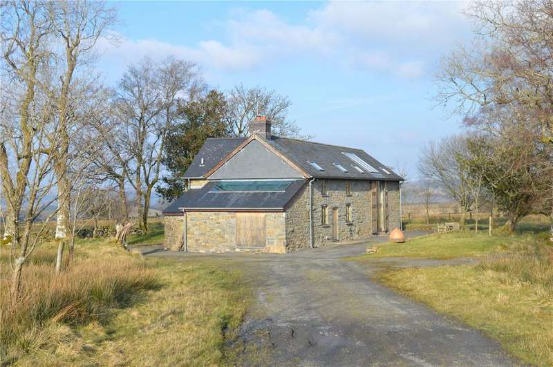 4 Bedrooms Detached House for sale in Trefeglwys, Caersws, Powys
