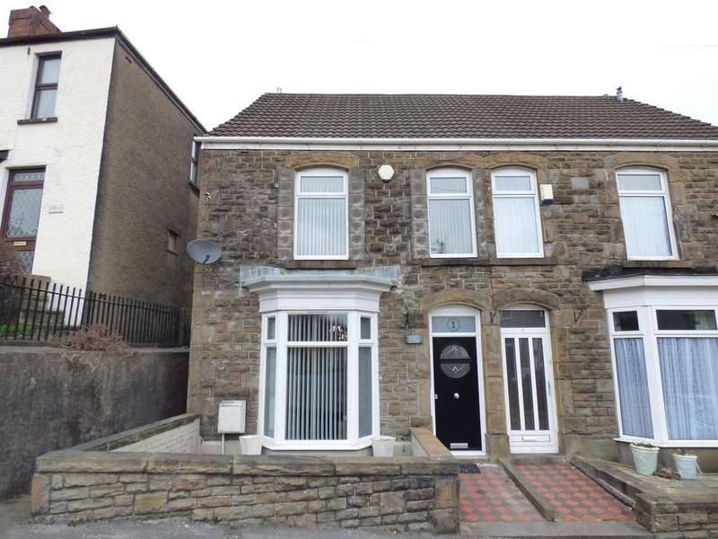 4 Bedrooms End Of Terrace House for sale in Crown Street, Morriston, Swansea, SA6