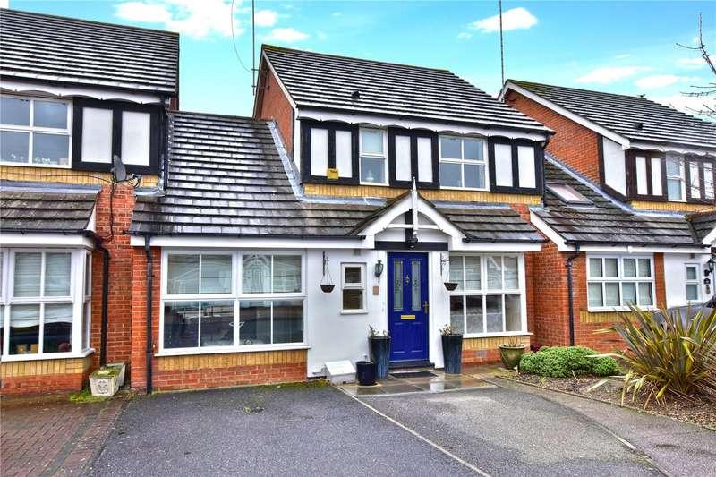 3 Bedrooms Link Detached House for sale in Basildon Close, Watford, Hertfordshire, WD18