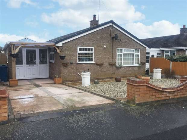 3 Bedrooms Detached Bungalow for sale in Jasmine Road, Great Bridgeford, Stafford