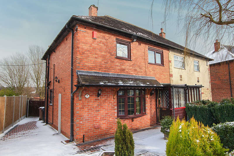 3 Bedrooms Semi Detached House for rent in Winchester Avenue, Bentilee, Stoke-On-Trent, ST2