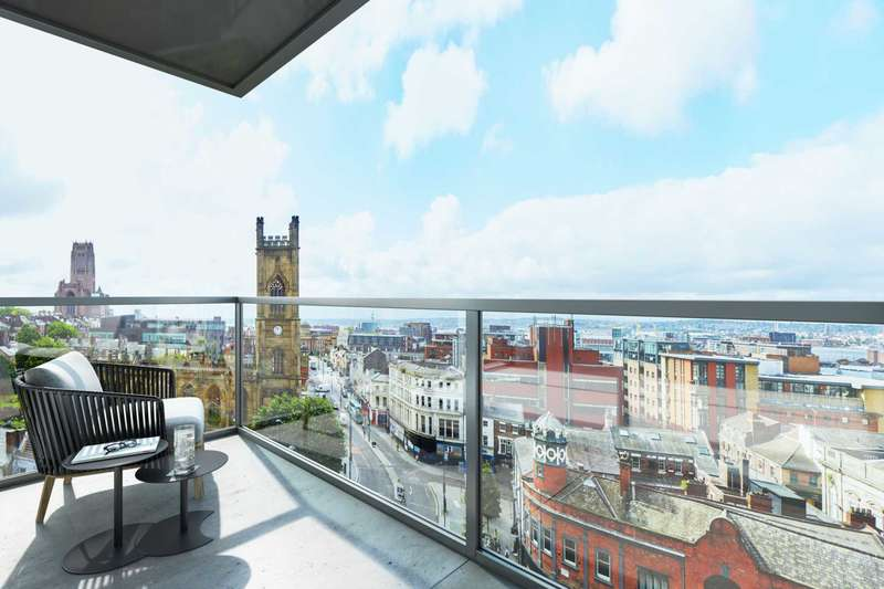 2 Bedrooms Flat for sale in Ropemaker Place, Renshaw Stree, Liverpool