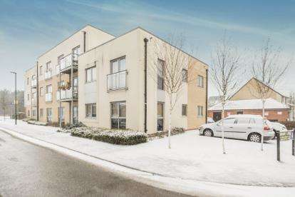 1 Bedroom Flat for sale in Swallowtail Court, Birdwing Walk, Stevenage, Hertfordshire