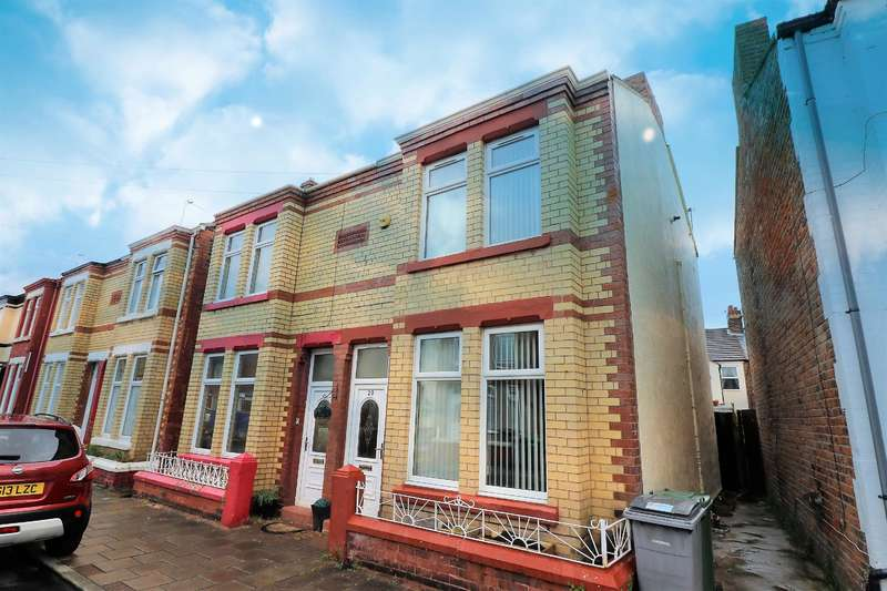 2 Bedrooms Semi Detached House for sale in Agnes Grove, Wallasey, CH44 1DH