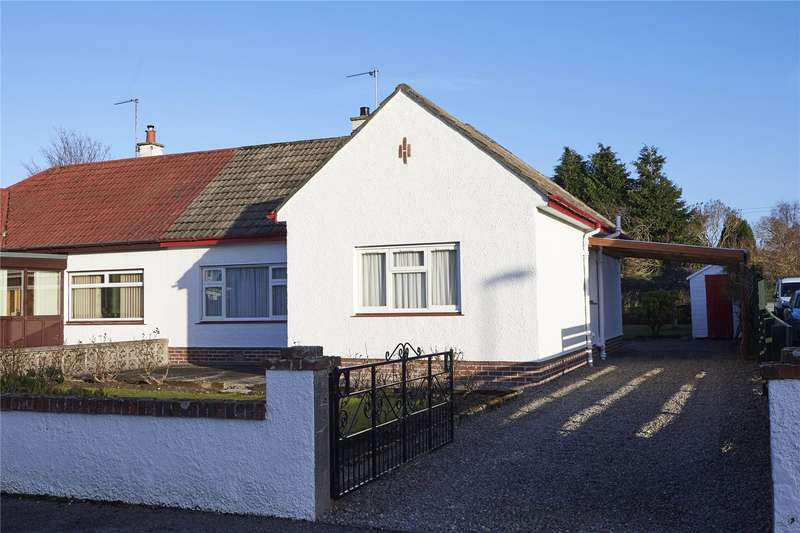 2 Bedrooms Semi Detached Bungalow for sale in 7 Lochy Road, Inverness, IV2