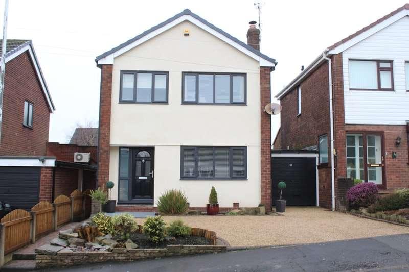 3 Bedrooms Link Detached House for sale in Moorfield Avenue, Stalybridge, Greater Manchester, SK15
