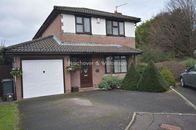 4 Bedrooms Detached House for sale in Cleddau Close, St. Mellons, Cardiff. CF3