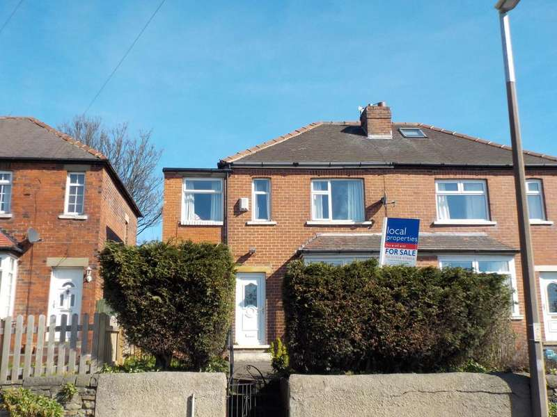 3 Bedrooms Semi Detached House for sale in Walkley Lane, Heckmondwike