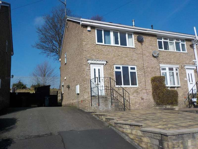 3 Bedrooms Semi Detached House for sale in Summerbridge Close, Batley