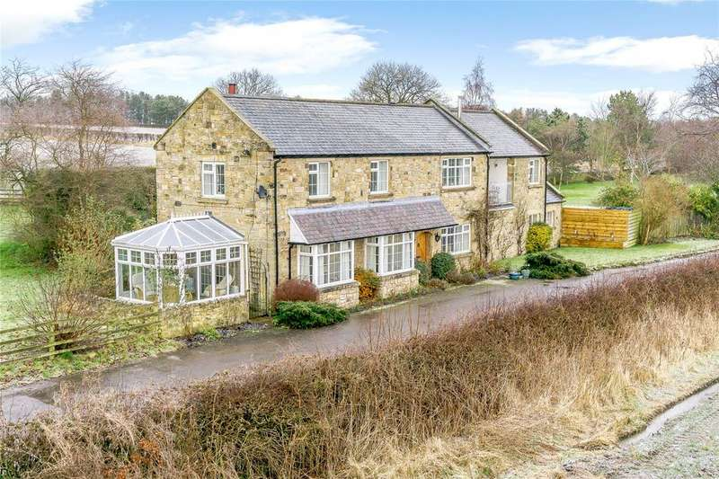 4 Bedrooms Detached House for sale in Low Heighley, Morpeth, Northumberland