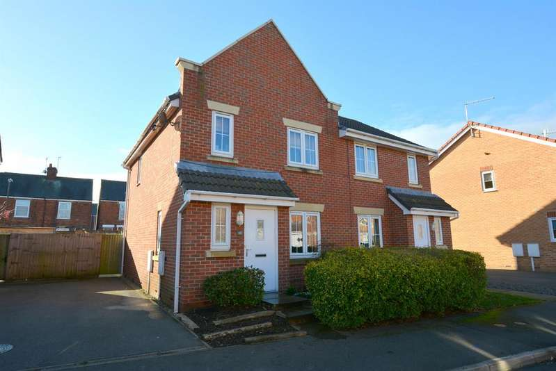 3 Bedrooms Semi Detached House for sale in Archdale Close, The Spires, Chesterfield, S40