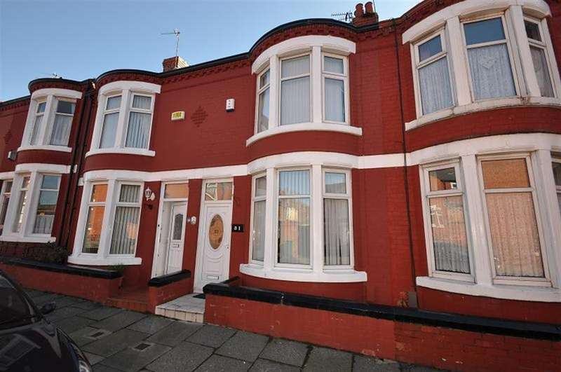 2 Bedrooms Terraced House for sale in Willowcroft Road, Wallasey, CH44 4BR