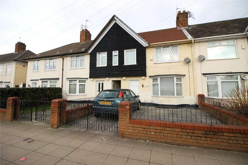 3 Bedrooms Terraced House for sale in Liverpool Road, Page Moss, Liverpool, Merseyside, L14