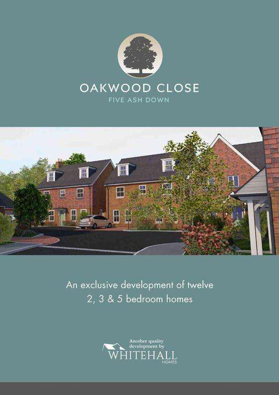 3 Bedrooms Semi Detached House for sale in Plot 11, Oakwood Close,Linum Lane, Uckfield