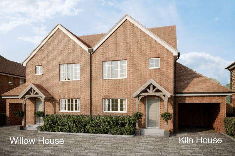 3 Bedrooms Semi Detached House for sale in Willow House, Bourne Drive, Littlebourne