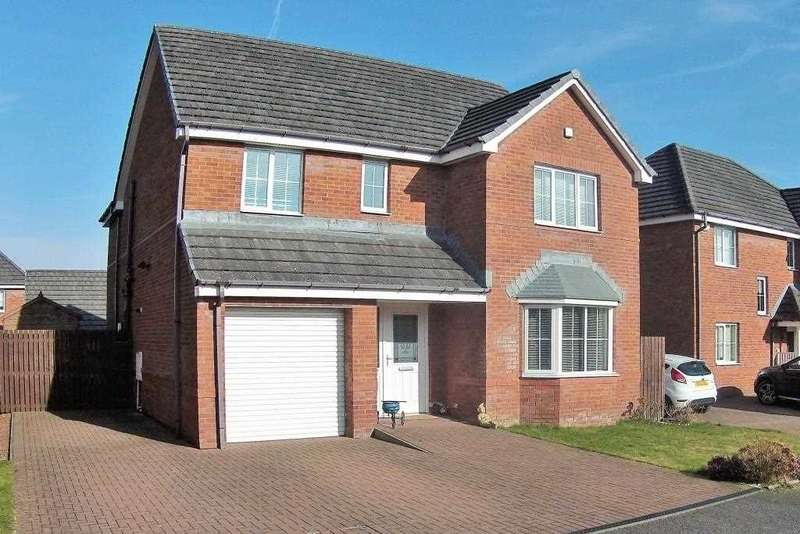 4 Bedrooms Detached House for sale in Mosswater Wynd, Cumbernauld