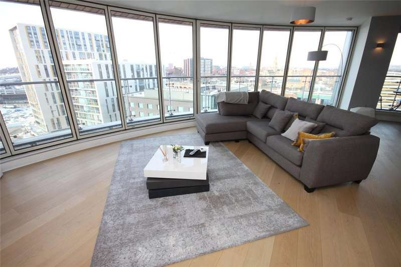 2 Bedrooms Flat for sale in Leftbank, Manchester, Greater Manchester, M3
