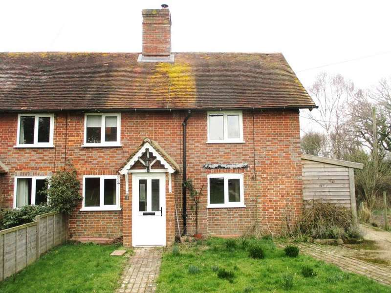 2 Bedrooms Semi Detached House for rent in Barrack Cottages, South Street, South Chailey, Lewes