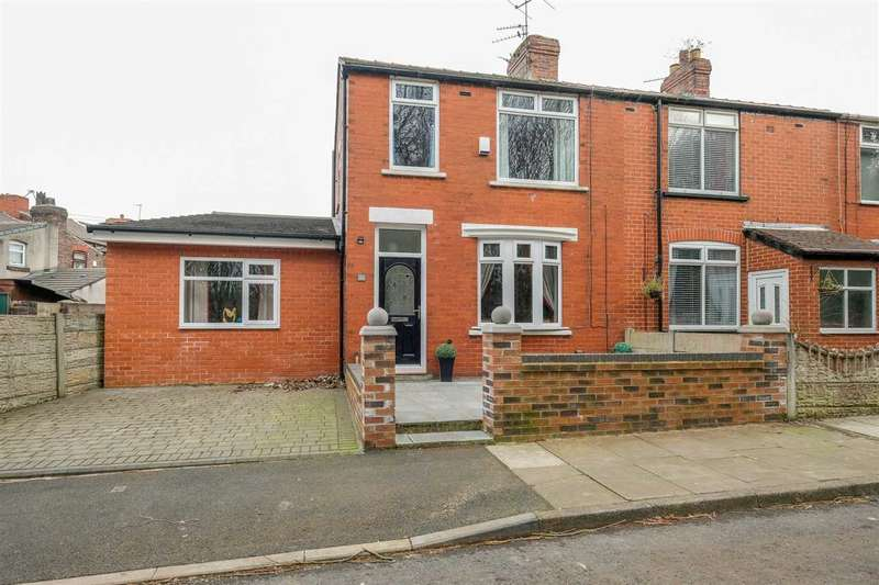 3 Bedrooms End Of Terrace House for sale in Smith Street, St Helens, St Helens