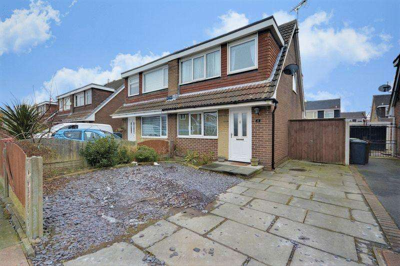 3 Bedrooms Semi Detached House for sale in Aintree Crescent, Southport