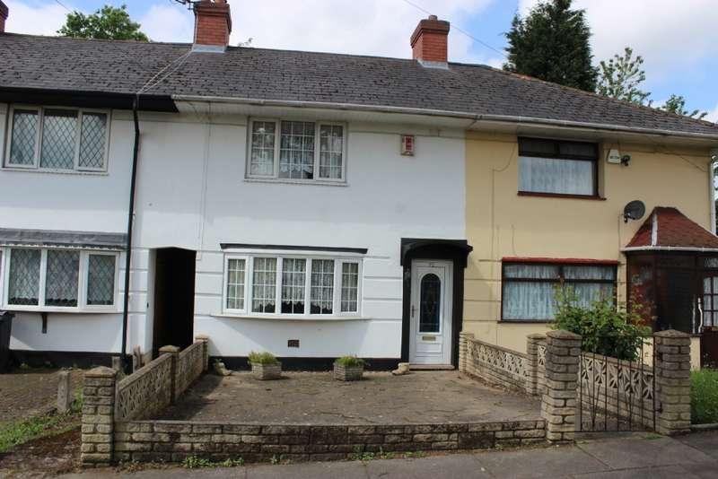 3 Bedrooms Terraced House for rent in Hurlingham Road,Kingstanding,Birmingham