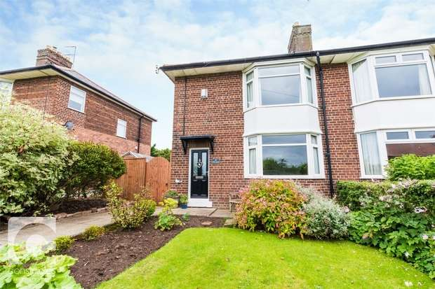 3 Bedrooms Semi Detached House for sale in Mill Lane, Ness, Neston, Cheshire