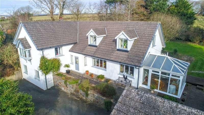 5 Bedrooms Detached House for sale in Freshfields, Cosheston, Pembroke Dock, Pembrokeshire