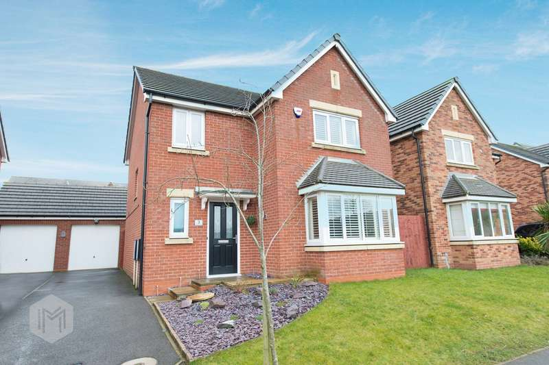 4 Bedrooms Detached House for sale in Junction Close, Blackrod, Bolton, BL6