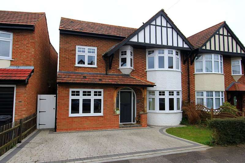 4 Bedrooms Semi Detached House for sale in Vicarage Road, Coopersale, Epping, Essex, CM16
