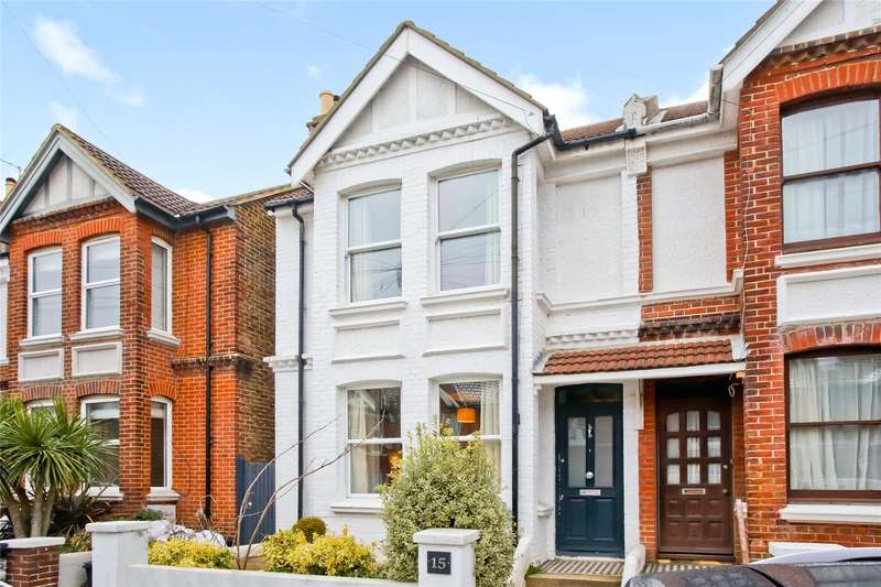 3 Bedrooms Semi Detached House for sale in Poynter Road, Hove, East Sussex, BN3