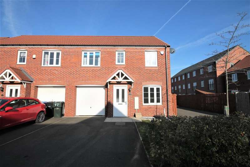 3 Bedrooms Semi Detached House for sale in Pease Gardens, Middlesbrough