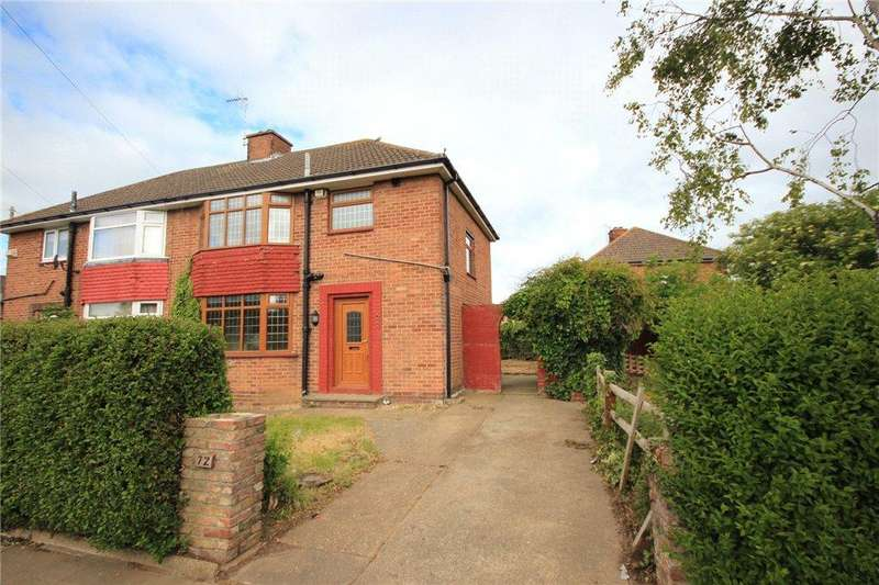 3 Bedrooms Semi Detached House for rent in Edge Avenue, Scartho, DN33