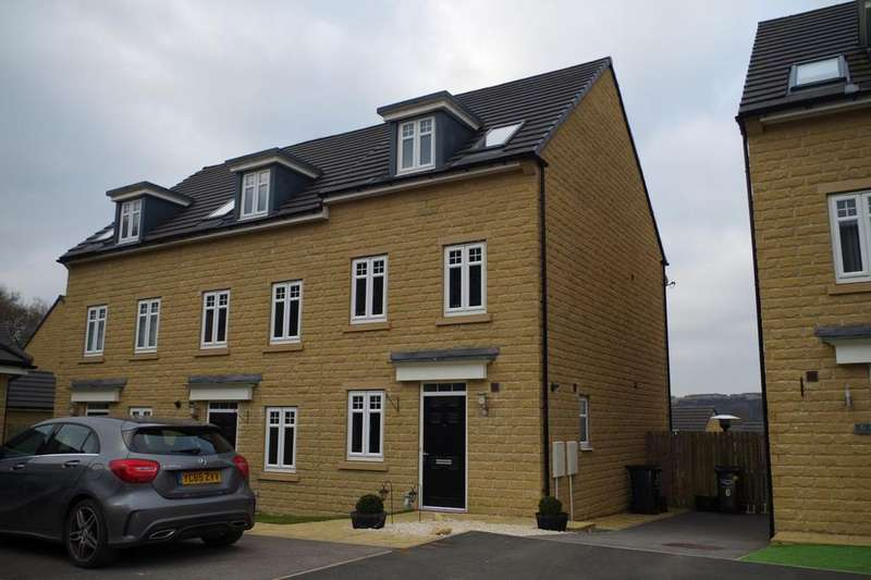 3 Bedrooms Semi Detached House for sale in Admiral Way, Fountain Head Village, Halifax HX2