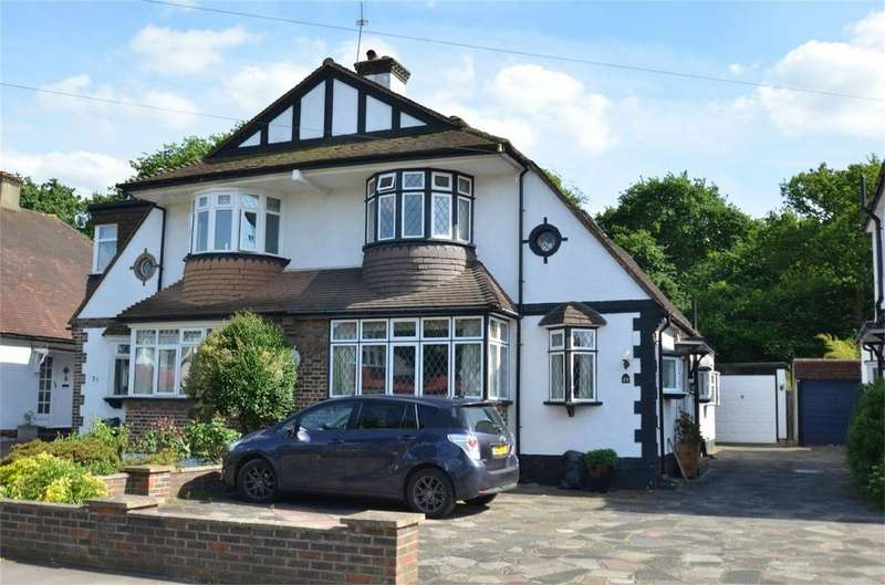 3 Bedrooms Semi Detached House for sale in Bushey Road, Shirley, Croydon, Surrey