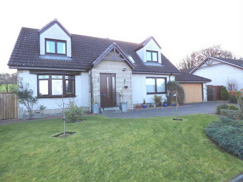 4 Bedrooms Detached House for sale in Hogarth Drive, Cupar, FIFE
