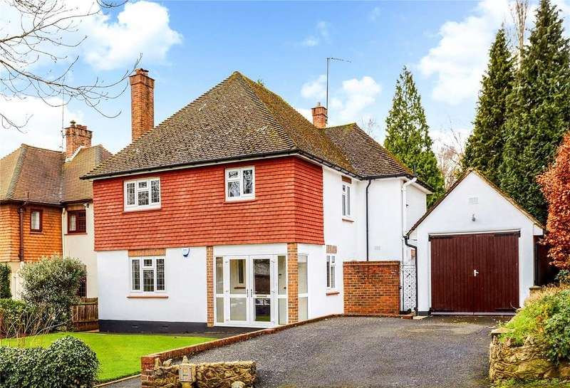 4 Bedrooms Detached House for sale in Marlborough Crescent, Sevenoaks, Kent, TN13