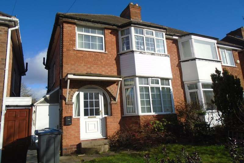 3 Bedrooms Semi Detached House for rent in Elmcroft Road, Birmingham, B26