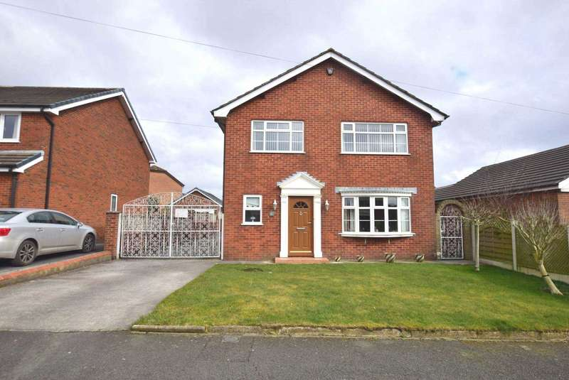 3 Bedrooms Detached House for sale in Hill Crescent, Newton