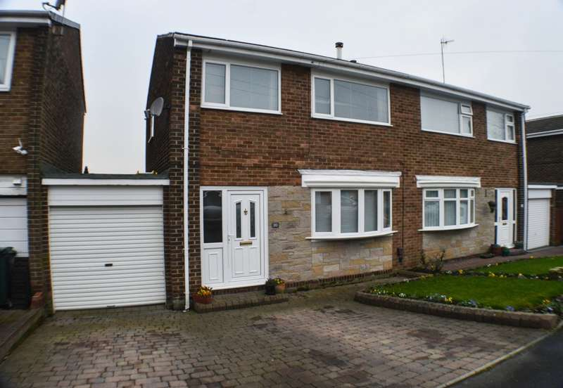 3 Bedrooms Semi Detached House for sale in Hindley Close, Ryton, NE40
