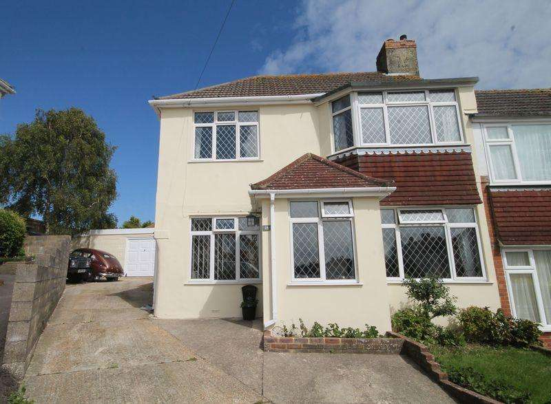 4 Bedrooms Semi Detached House for sale in Morecambe Road, Patcham, Brighton,