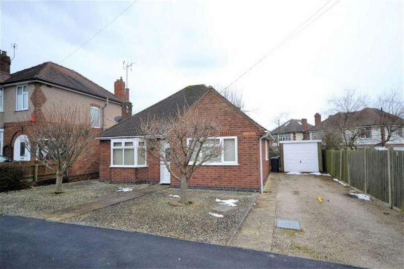 2 Bedrooms Detached Bungalow for sale in Niton Road, Weddington, Nuneaton