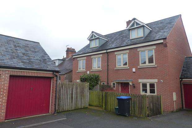 4 Bedrooms Semi Detached House for sale in Taylor Court, Ashbourne, DE6