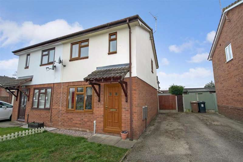 2 Bedrooms Semi Detached House for rent in Smale Rise, Oswestry