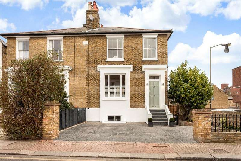 4 Bedrooms Semi Detached House for sale in Felsham Road, Putney, London, SW15