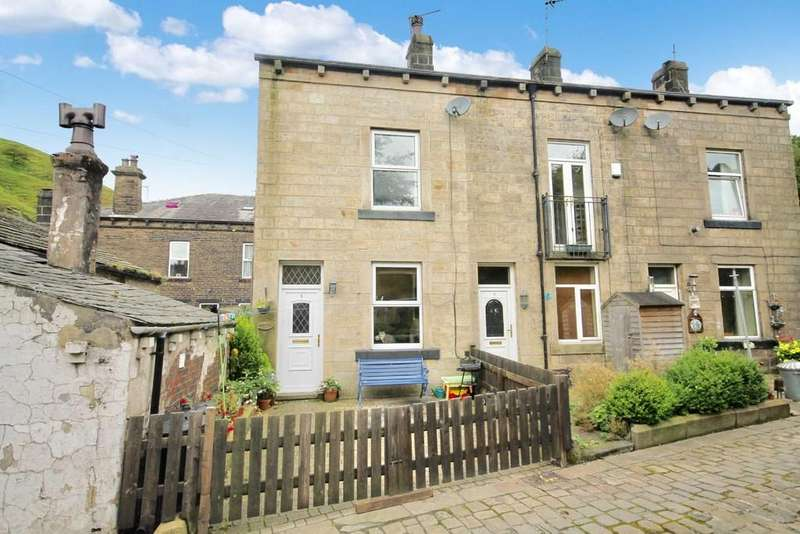 2 Bedrooms End Of Terrace House for sale in Frieldhurst Road, Todmorden
