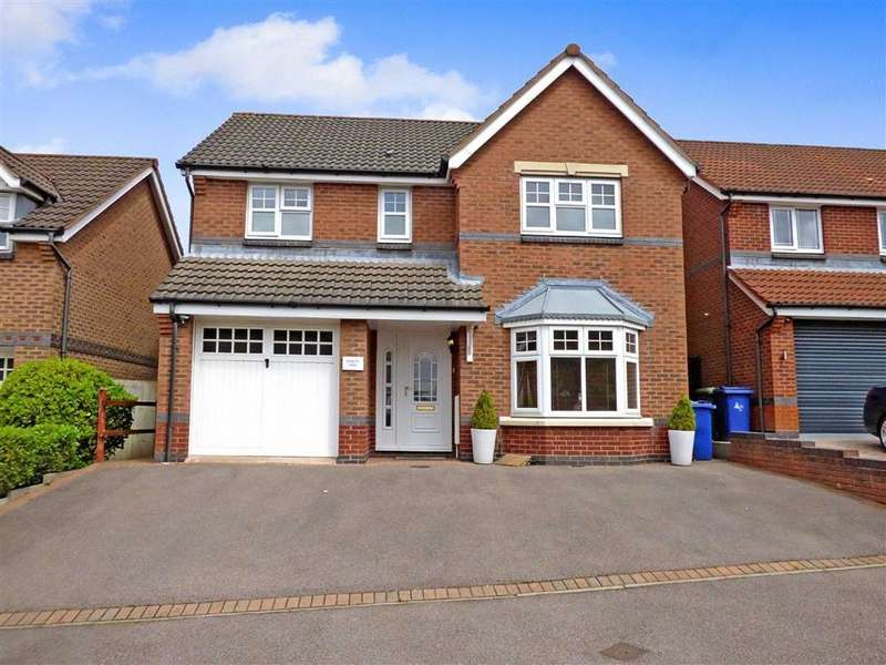 4 Bedrooms Detached House for sale in Chasewater Way, Norton Canes, Staffordshire