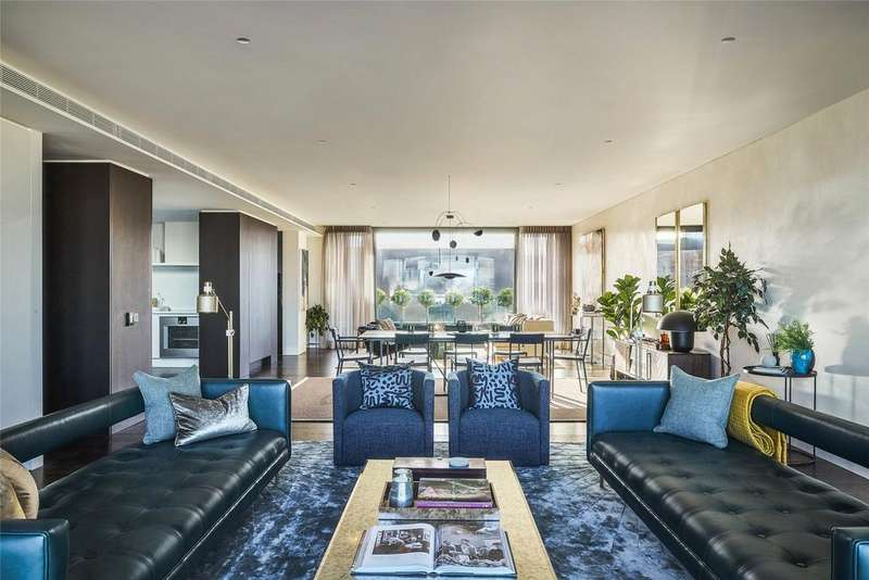 3 Bedrooms Penthouse Flat for sale in Rathbone Square, Rathbone Place, London, W1T