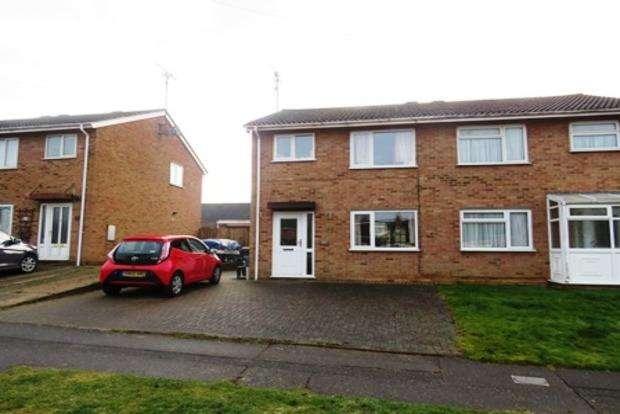3 Bedrooms Semi Detached House for sale in Sherwood Avenue, Kingsthorpe, Northampton, NN2