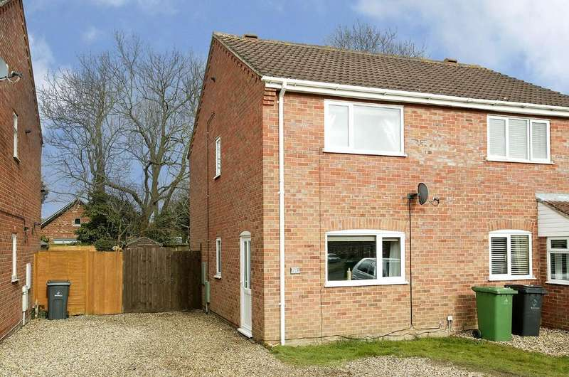 2 Bedrooms Semi Detached House for sale in Barley Way, Attleborough